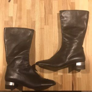 Authentic Brown Chanel boots
